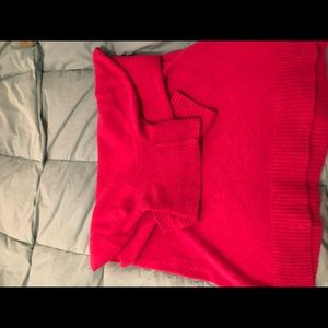 J.Crew Magenta 🐢 Turtleneck Sweater. Long. XXL